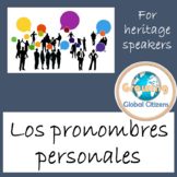 Los pronombres personales: Spanish pronouns for heritage learners