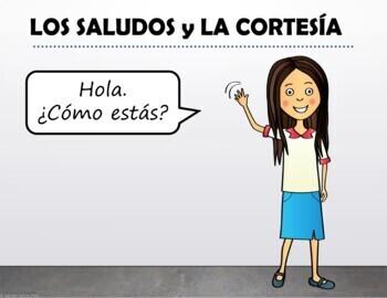 Los saludos / Spanish Greetings Bundle