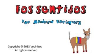 Los sentidos with the Colombian donkey Audio Book en español