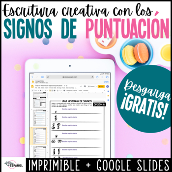 Los signos de puntuación | Assessment de Escritura | Spanish Distance Learning