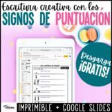 Signos de puntuación Assessment de escritura | Spanish Dis