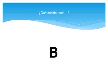 Los sonidos en espanol Sounds in Spanish