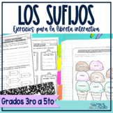 Sufijos |  Spanish Suffixes ( activities for the Interacti