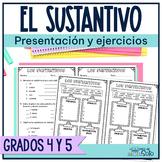 Spanish type of nouns/  El sustantivo y sus clases