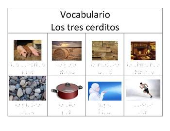 Los tres cerditos/Three Little Pigs Vocabulary