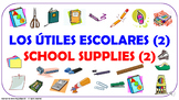 Los útiles escolares (2). ¿Qué necesitas para la escuela?