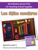 Los útiles escolares - School Supplies All-Inclusive Spani