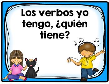 Los verbos- Yo tengo, ¿quién tiene?
