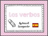 Los verbos en español. Verbs in Spanish.