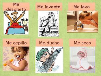 Los verbos reflexivos y la rutina diaria