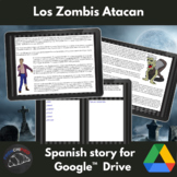 Los zombis atacan - past tense Spanish story - Google version