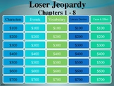 Loser Chapters 1 - 8 Jeopardy Game