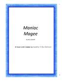 Maniac Magee Literature Unit Plus Grammar