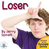 Loser Novel Study Book Unit