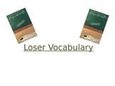 Loser Vocabulary Slideshow