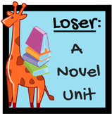 Loser by Jerry Spinelli : A Novel Unit and Teacher Guide