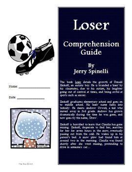 Loser Novel Study Unit Super Bundle