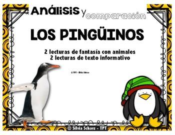 Los pingüinos: un cuento fantástico con animales y un texto informativo