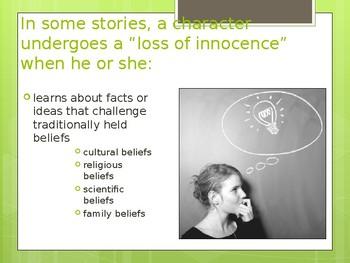 Loss of Innocence Theme PPT