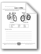 Lost: A Bike (Writing Descriptions)