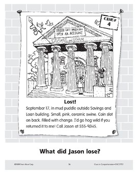 Lost: A Piggy Bank