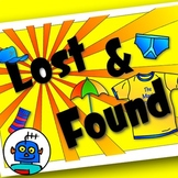 Lost And Found Sign For Classrooms