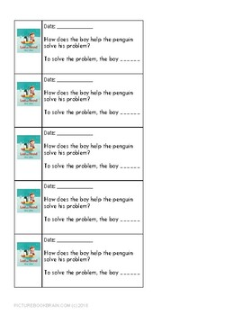 Lost And Found by Oliver Jeffers 4-5 Day Lesson Plan and Activities