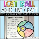 Lost Beach Ball Craft & Writing!