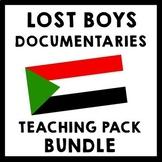 Lost Boys of Sudan & God Grew Tired Of Us Documentary Teaching Package BUNDLE