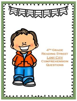 Lost City - 4th Grade Reading Street