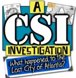 Lost City of Atlantis: A CSI Investigation! What Happened to Atlantis?