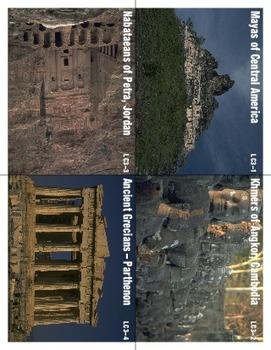 Lost Civilizations 3 Scrambled Sentences Manipulatives