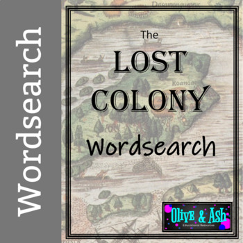 Lost Colony Wordsearch