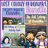 Lost Colony of Roanoke BUNDLE: PowerPoint, Notebook Lesson