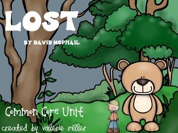 Lost! Common Core Unit
