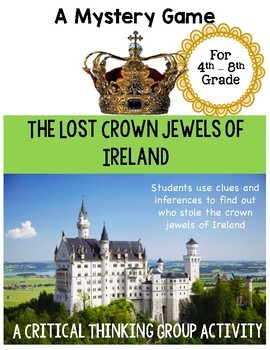 Lost Crown Jewels of Ireland - Mystery Game - Great Ice Breaker Activity!