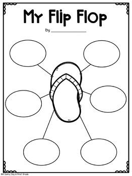Lost Flip Flop Craft & Writing!