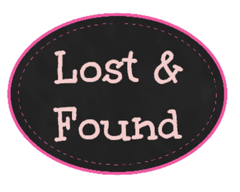 Lost & Found Label
