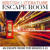 Lost In Literature Escape Room: An Escape Room for British