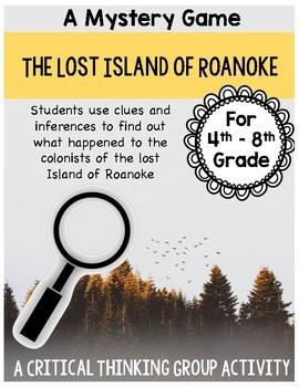 Lost Island of Roanoke - Mystery Game - Great Ice Breaker Activity!