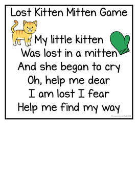 Lost Kitten and Mittens Games