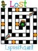 Lost Leprechaun Antonym/Synonym Game Board FREEBIE