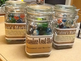 Lost Marbles Jar- Great Retirement Gift