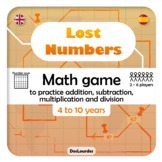 Lost Numbers - Math Game
