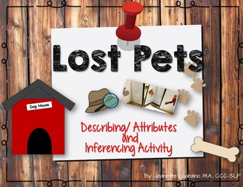 Lost Pet Inference And Describing Activity: Describing and Inferring Pets