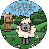 Lost Sheep Craft Kit- Bible craft for kids