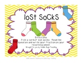 Lost Socks - Telling Fractions of a Set