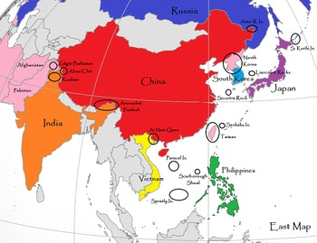 Lost Territories Simulation Maps