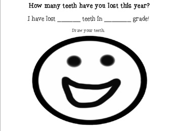 Lost Tooth Activities