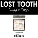 Lost Tooth Baggie Tag